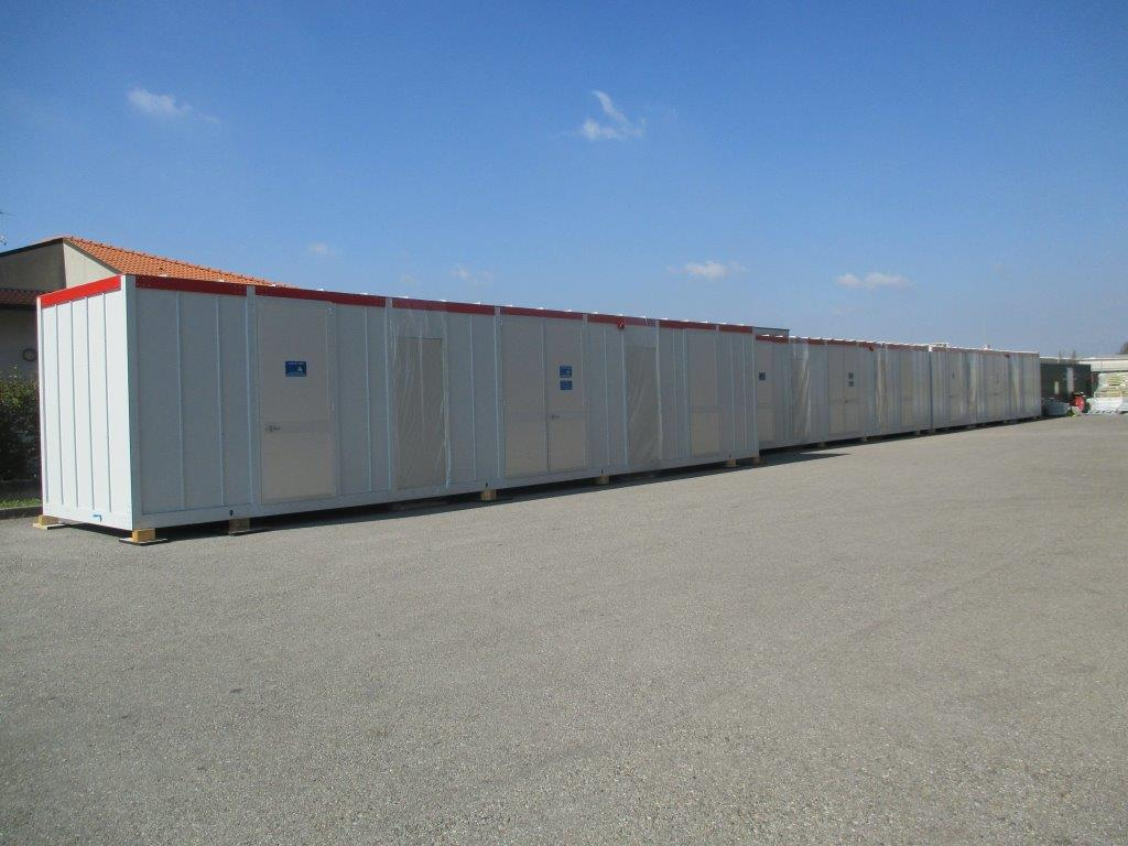 E-house shelters for Algeria, North Africa