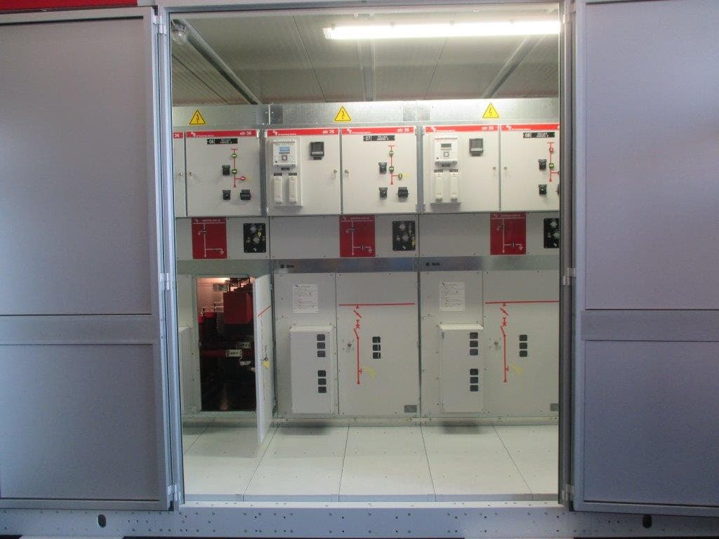 E-house compact substations for Algeria, North Africa