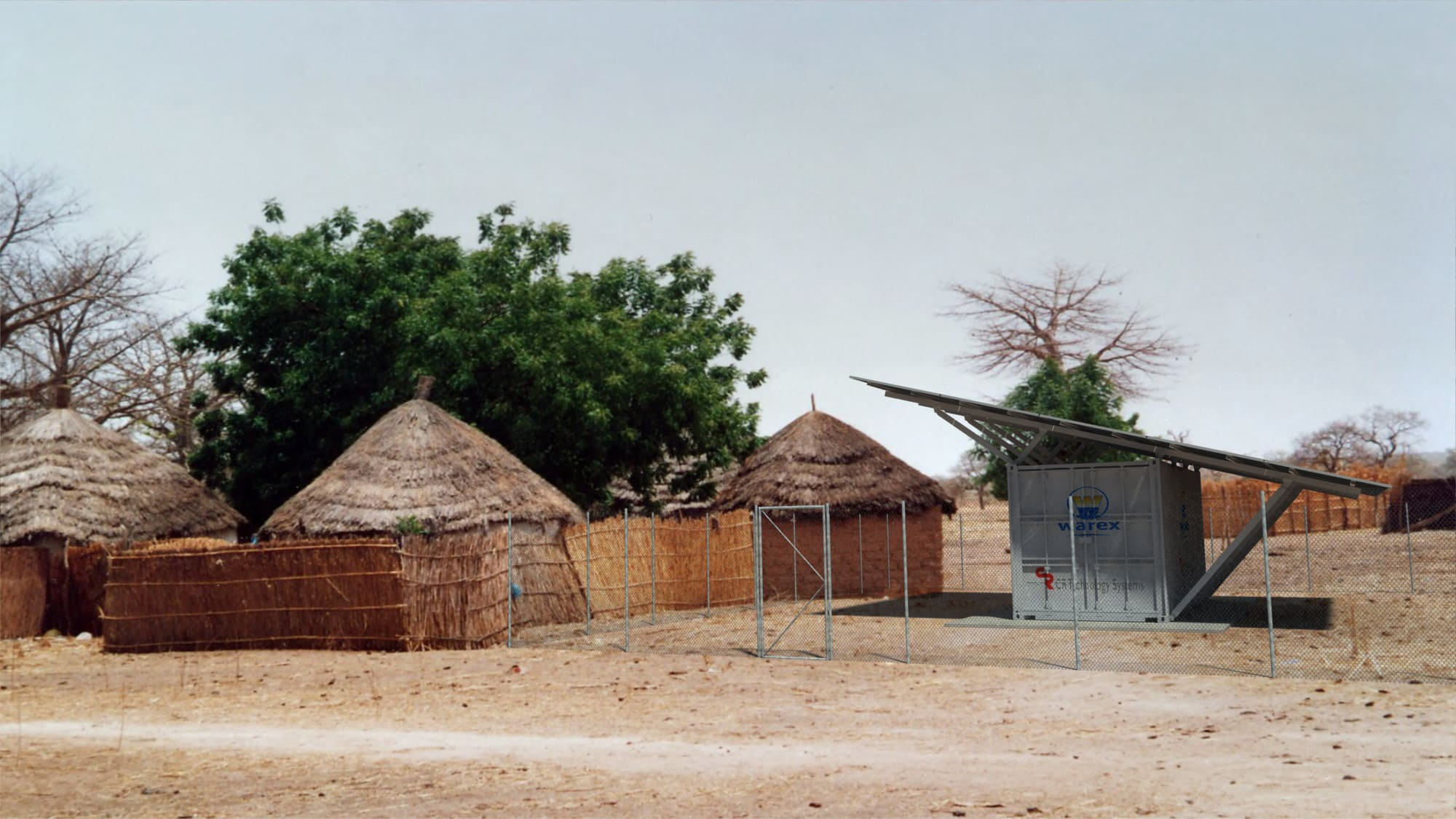 E-house for PV systems in Ivory Coast, Africa