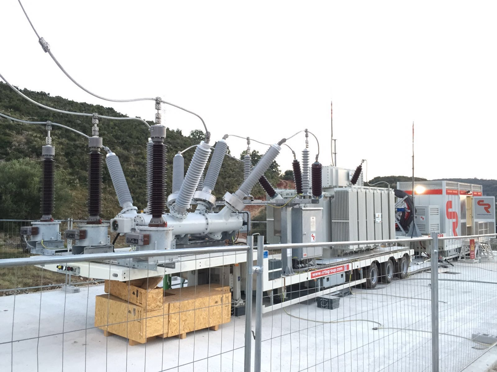 plug and play mobile substation in Albania