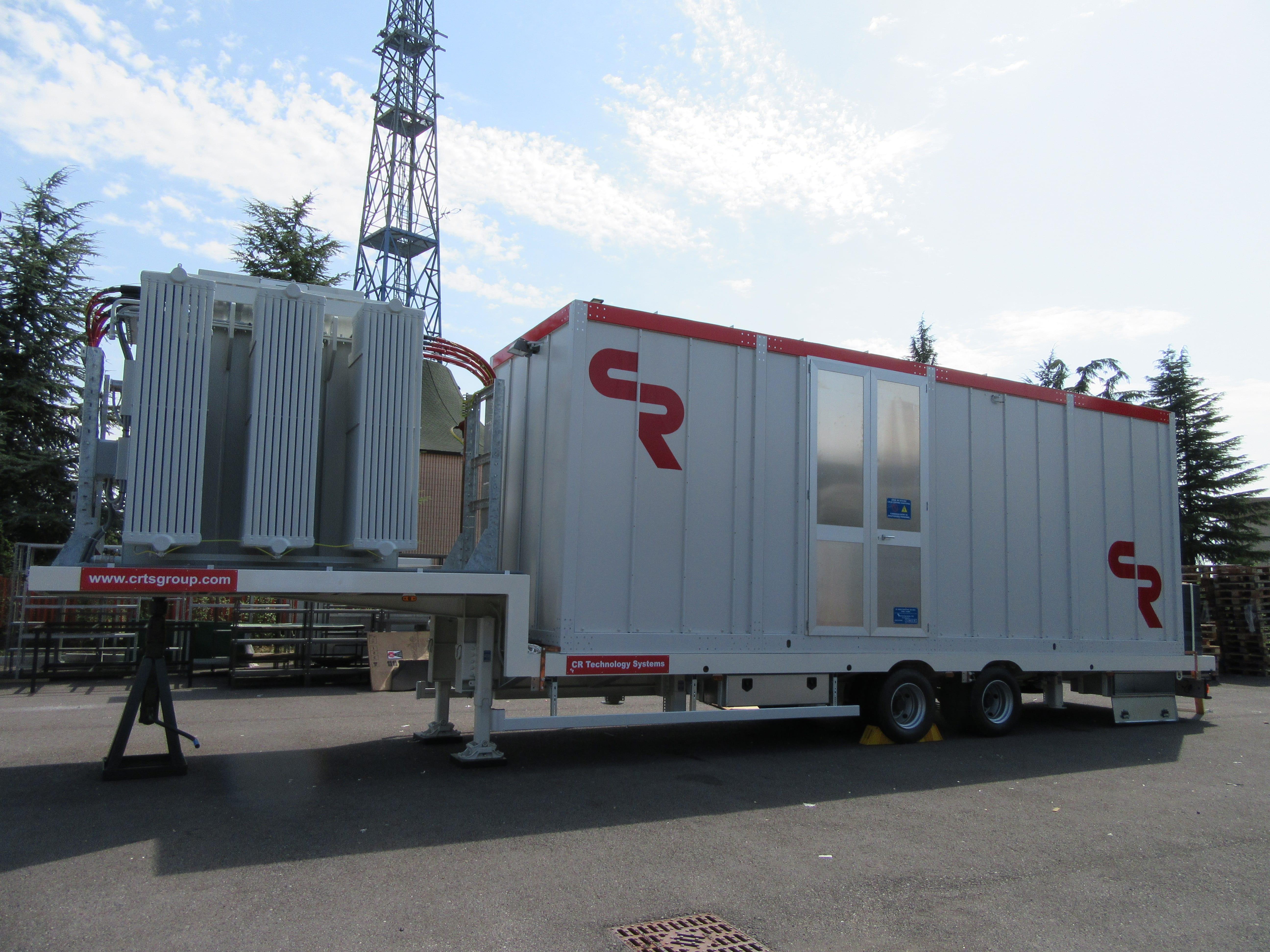 Mobile substation for Albania, Europe