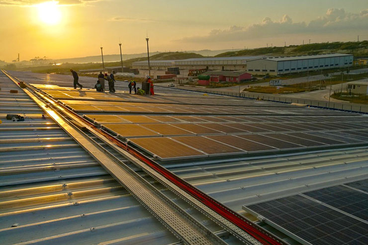 rooftop photovoltaics