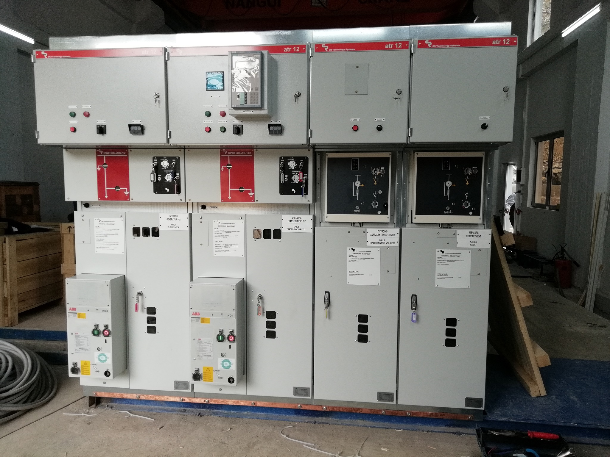 AIS MV switchgear panels