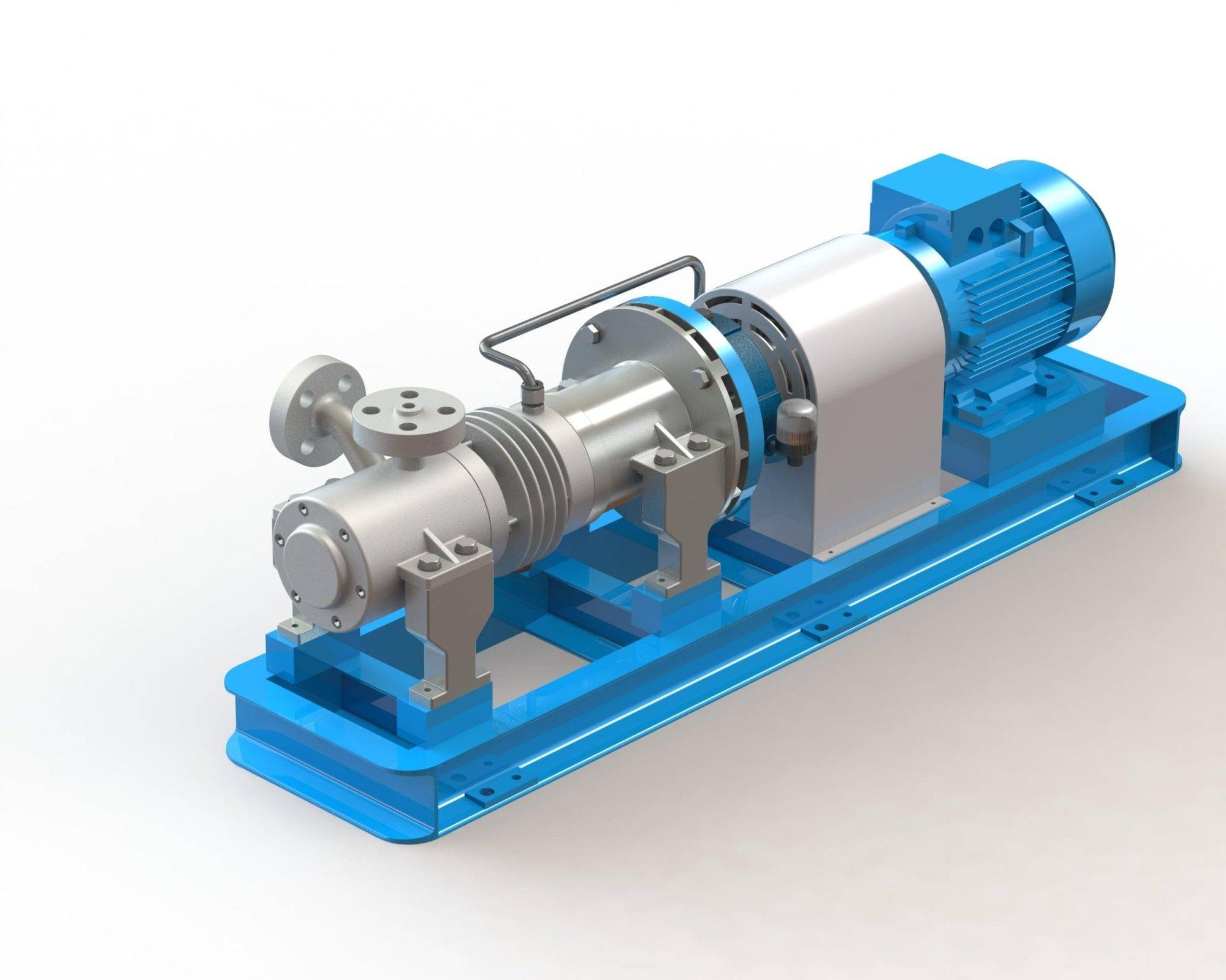 N. 6 FEED PUMPS FOR THERMOELECTRIC PLANT