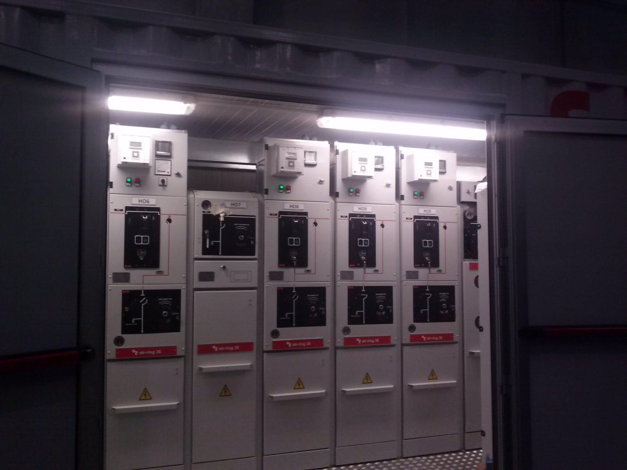 Quadro elettrico MT