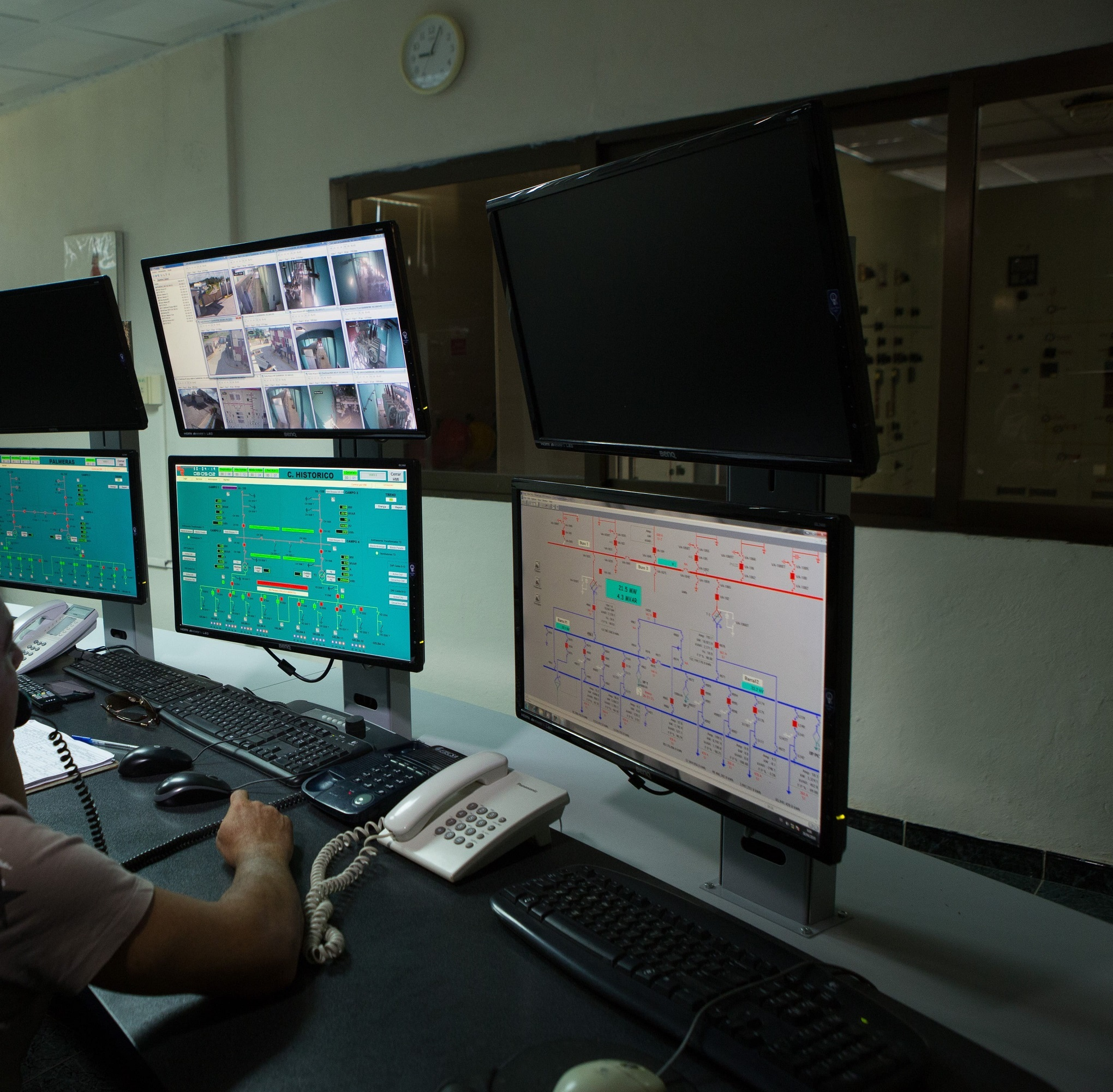 Supervisory Control And Data Acquisition per il monitoraggio dell'impianto