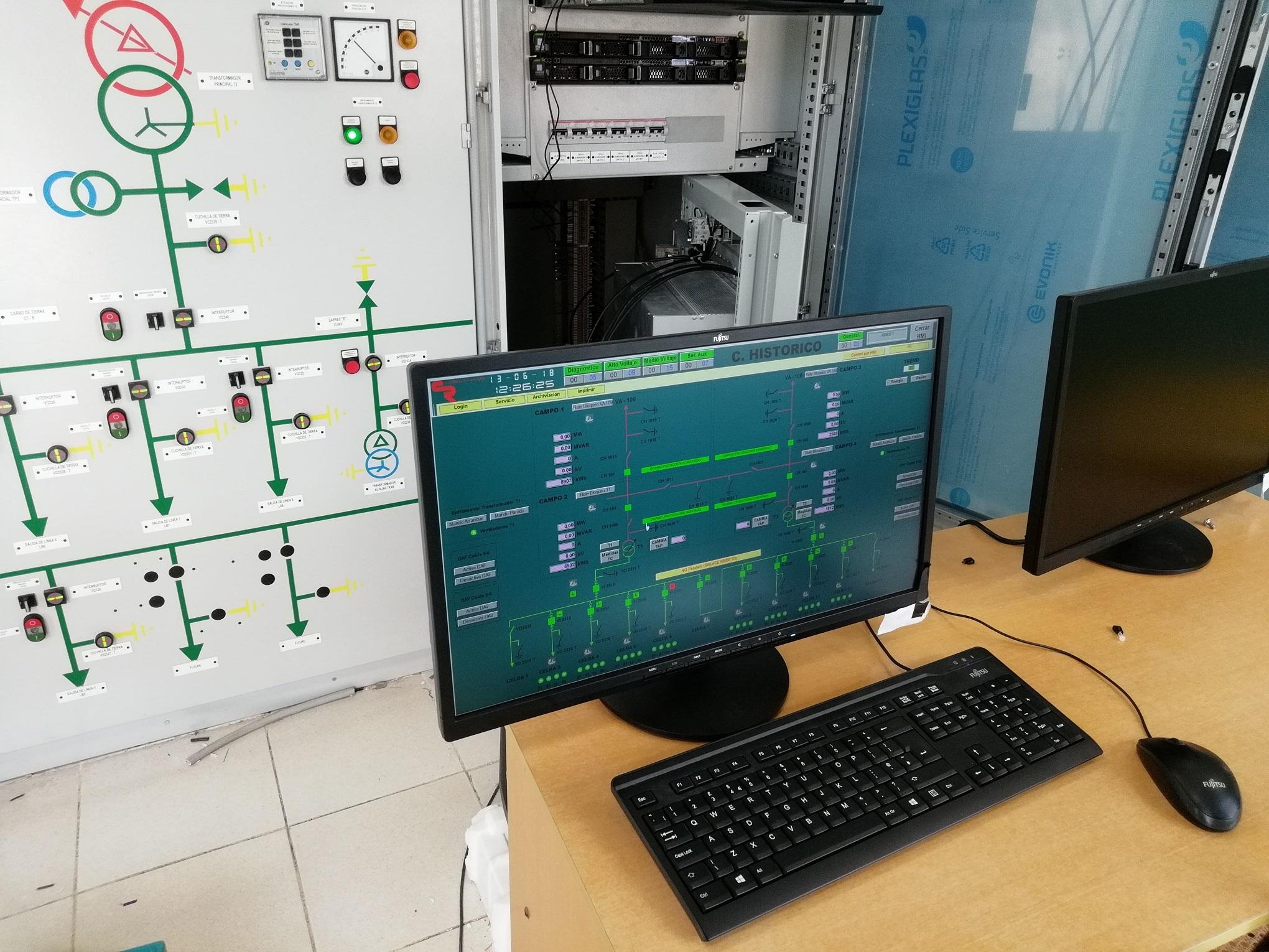 sistema SCADA per il monitoraggio
