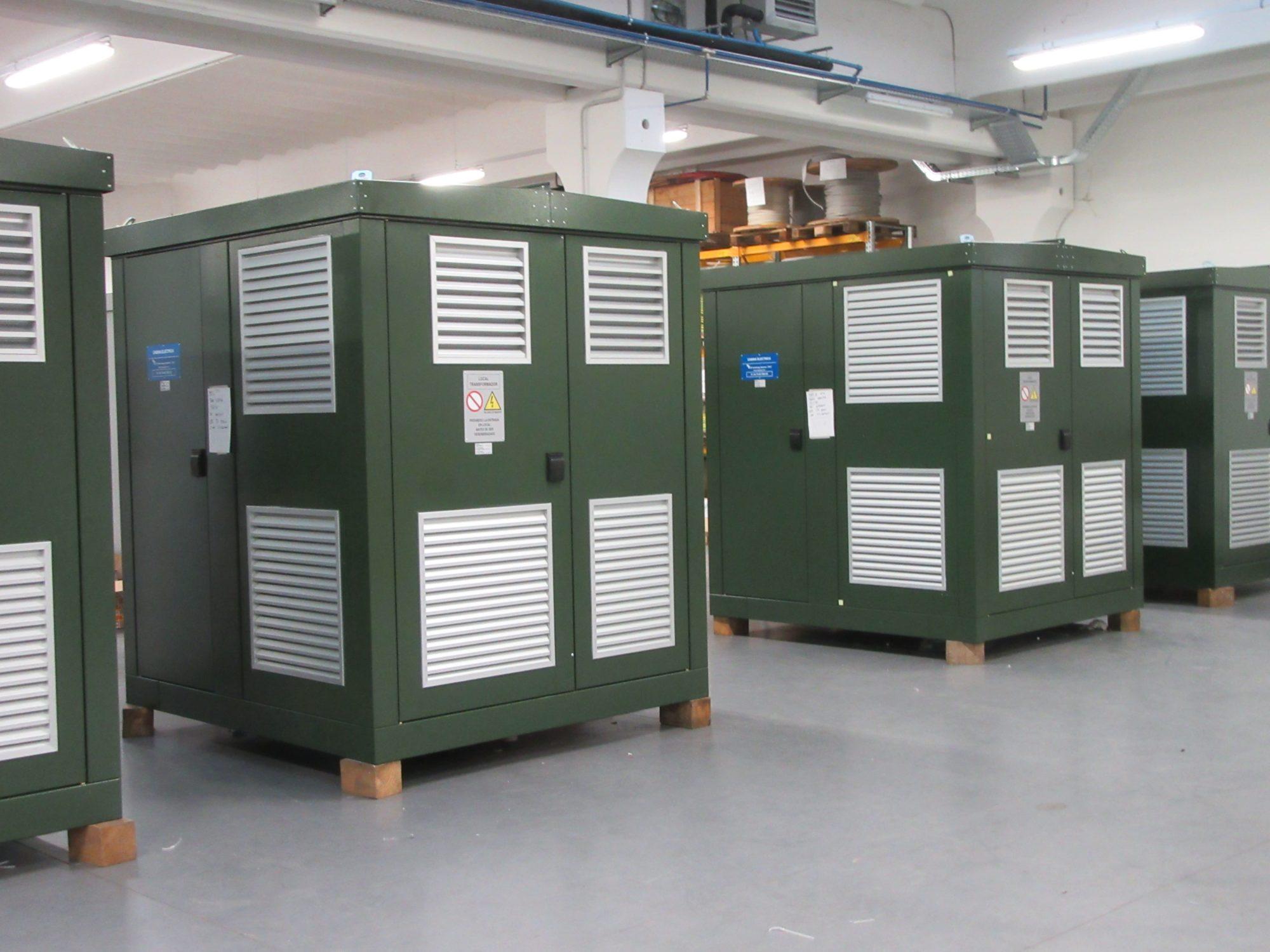 Modular compact substations