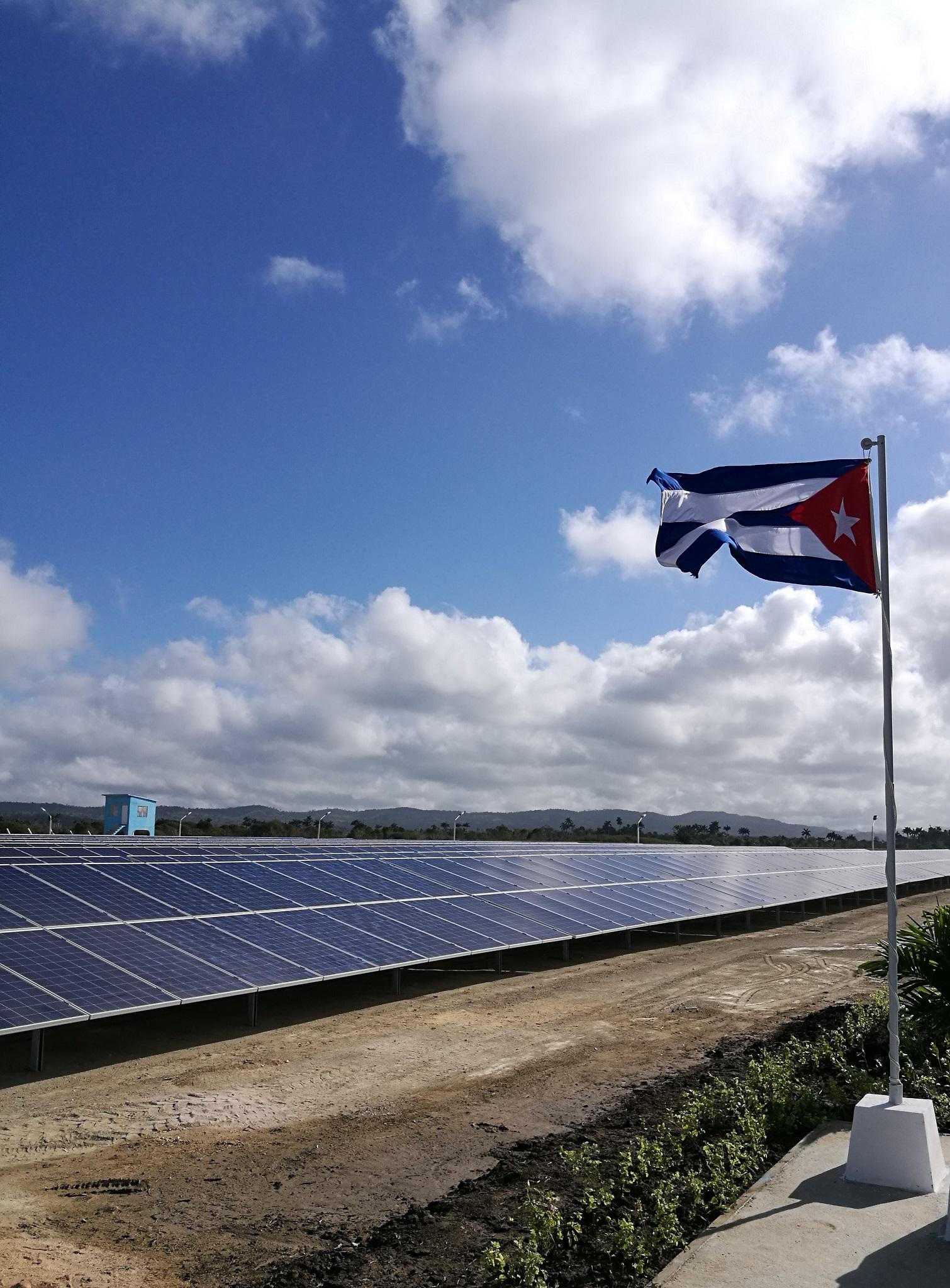Parque fotovoltaico a Venegas, Cuba
