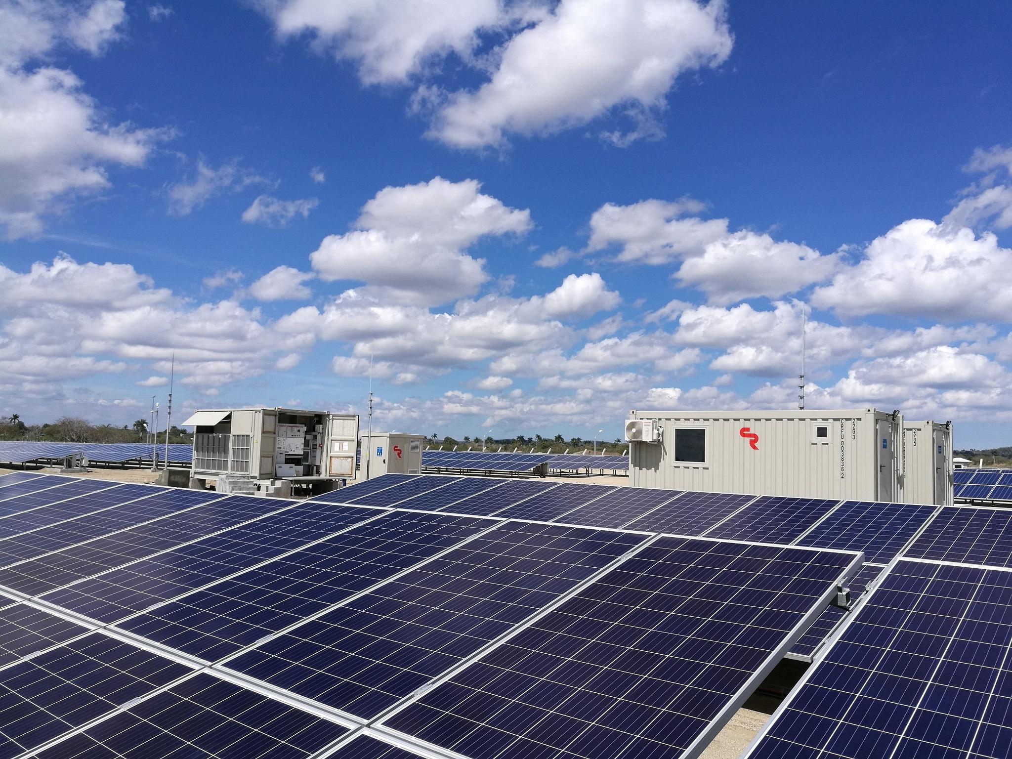 Sistemas fotovoltaicos en Camaguey, Cuba