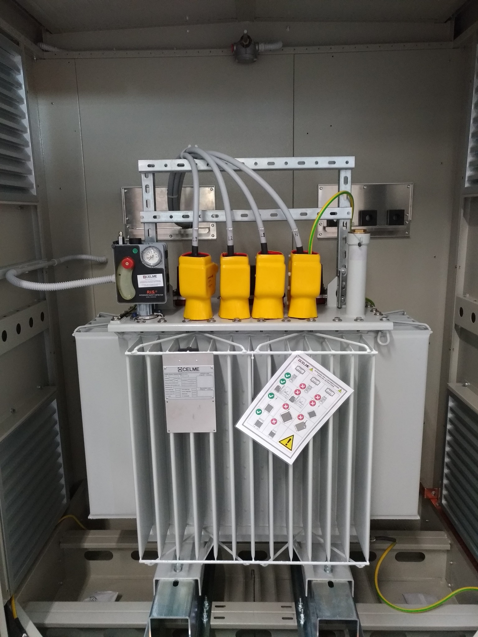 Trasformador de potencia pra fotovoltaico, Cuba