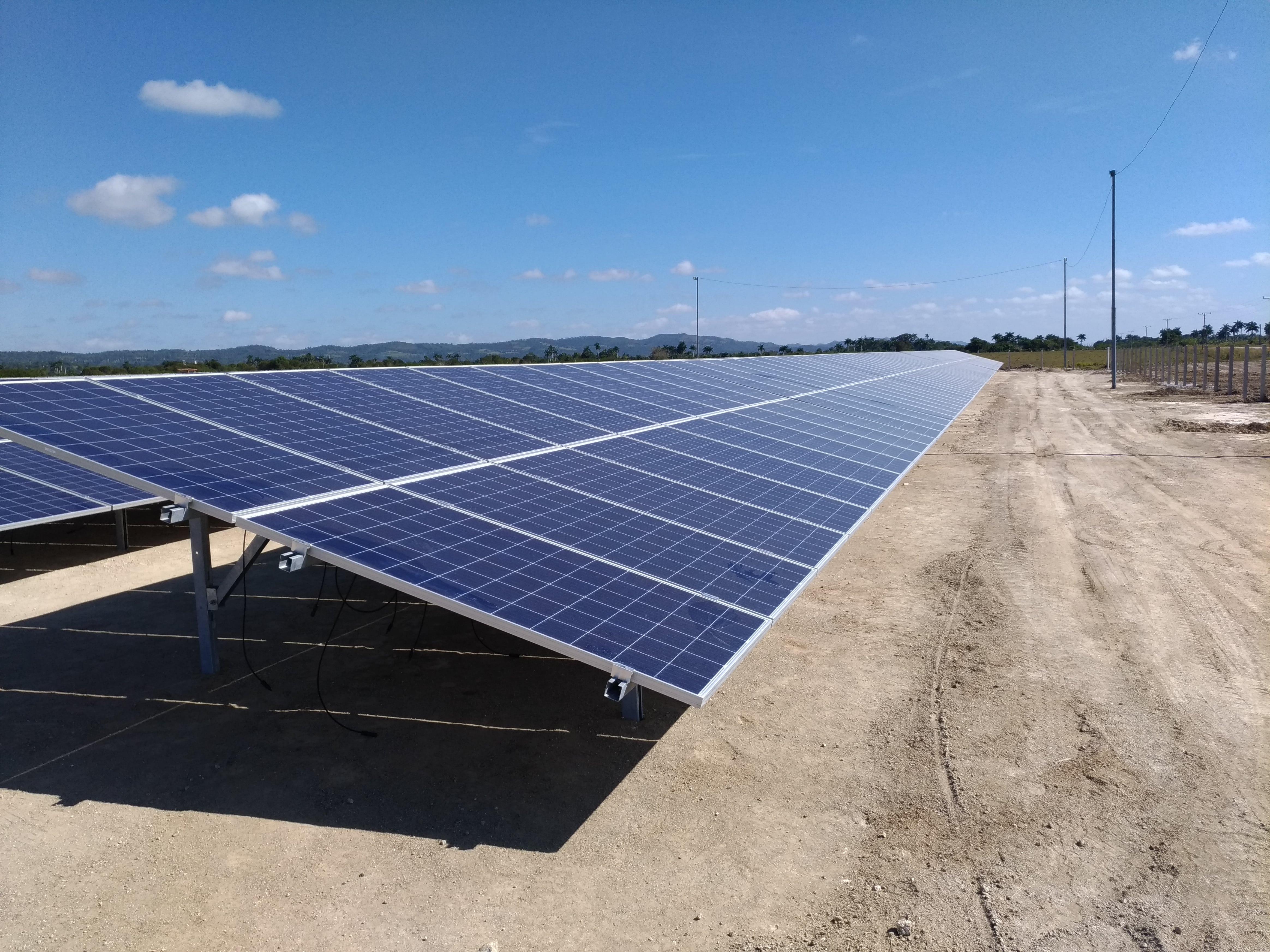Parques fotovoltaicos, Matanzas, Cuba
