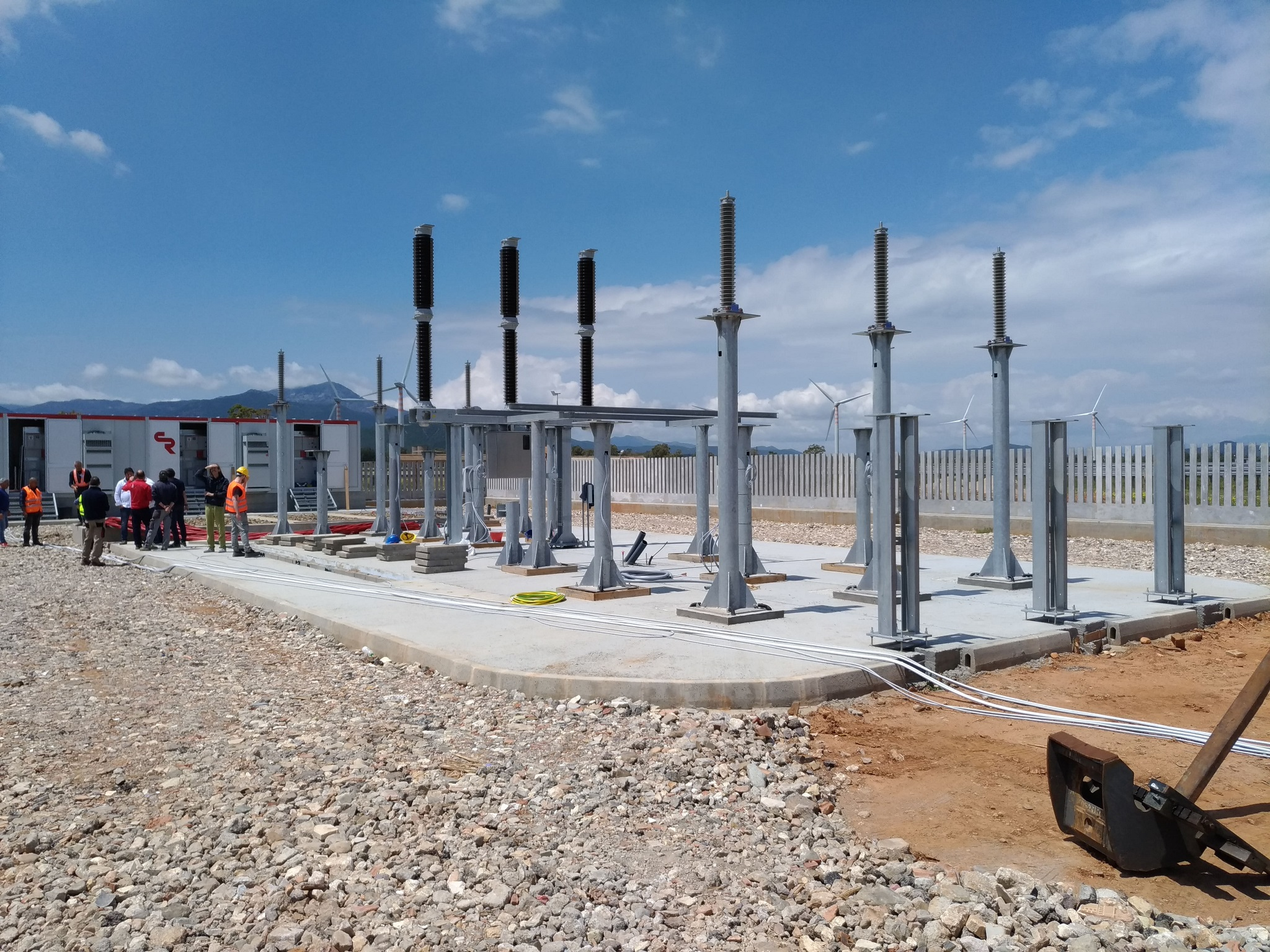 photovoltac system in Macchiareddu, Sardinia