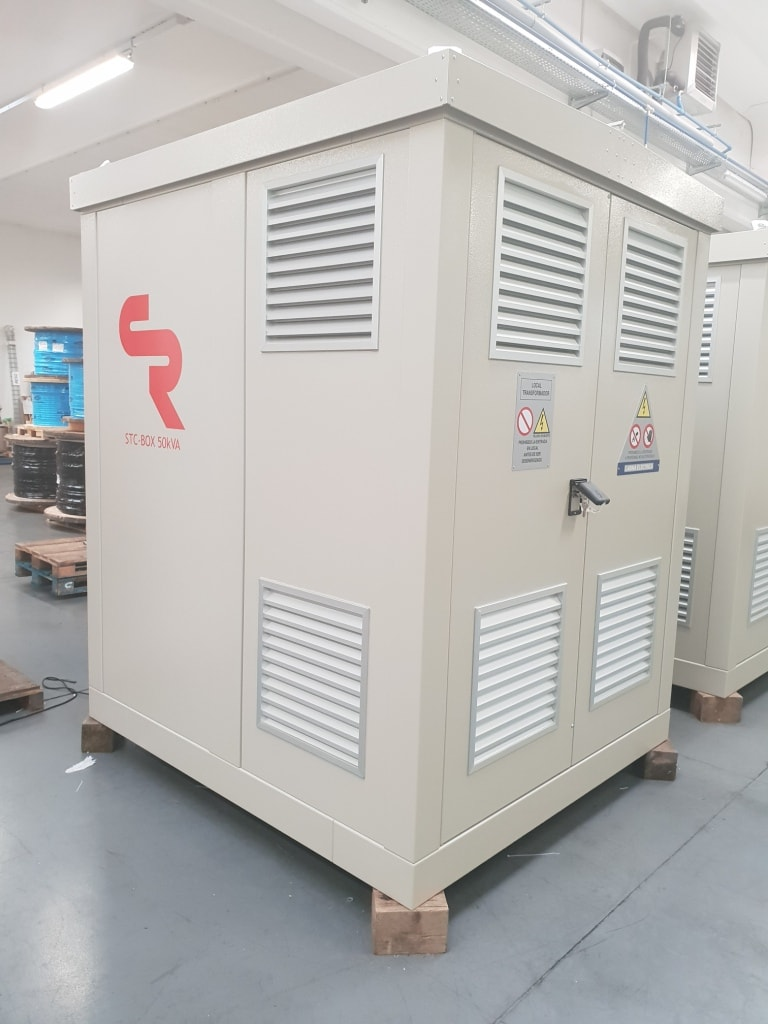 compact e-house for secondary distribution grid