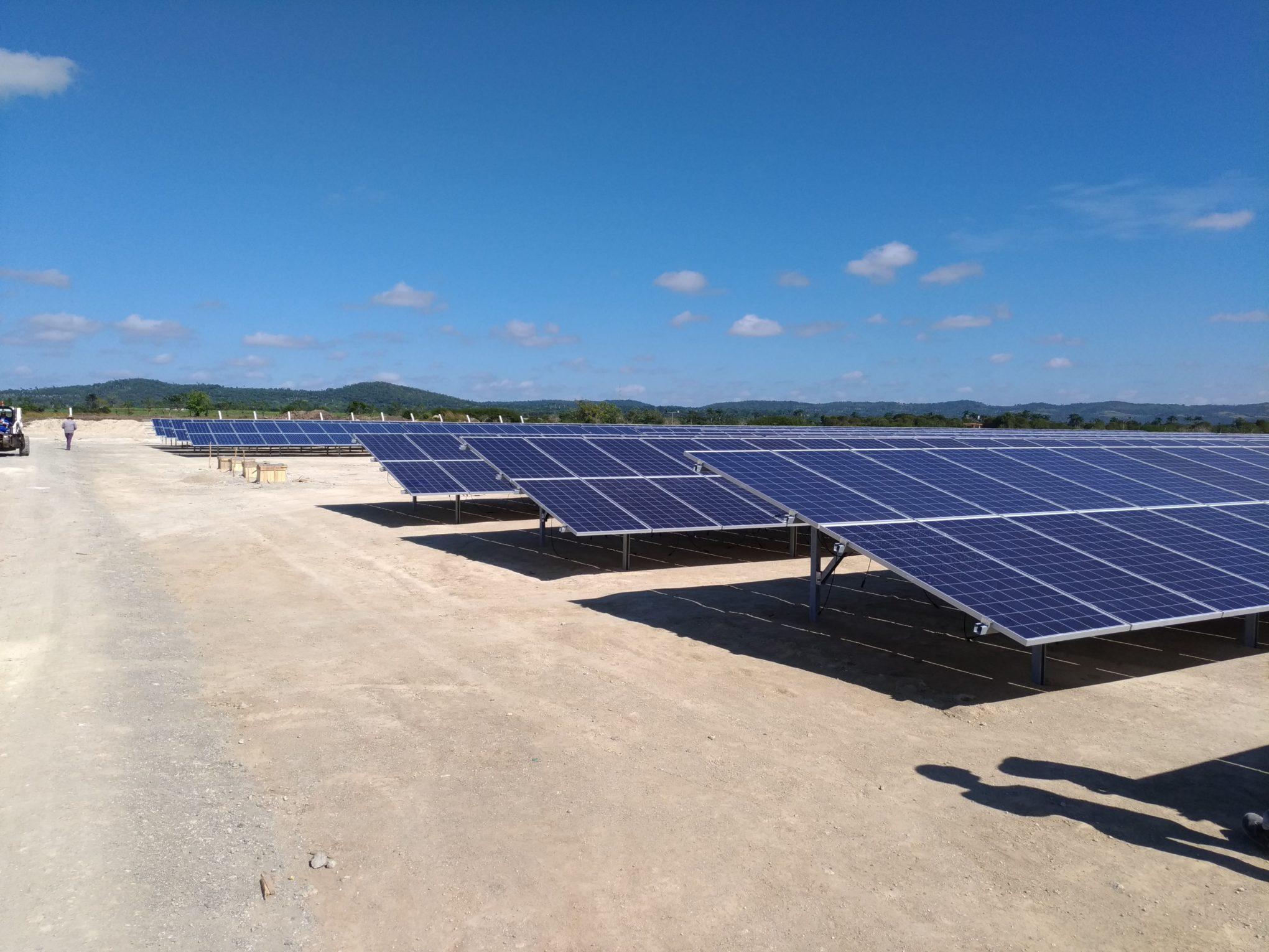 PV system for Cuba, Latin America