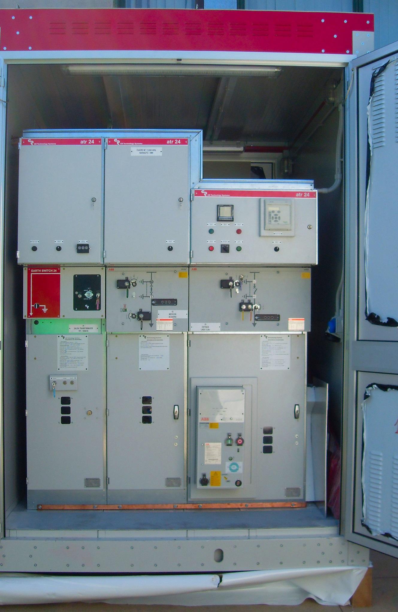 Modular compact substation