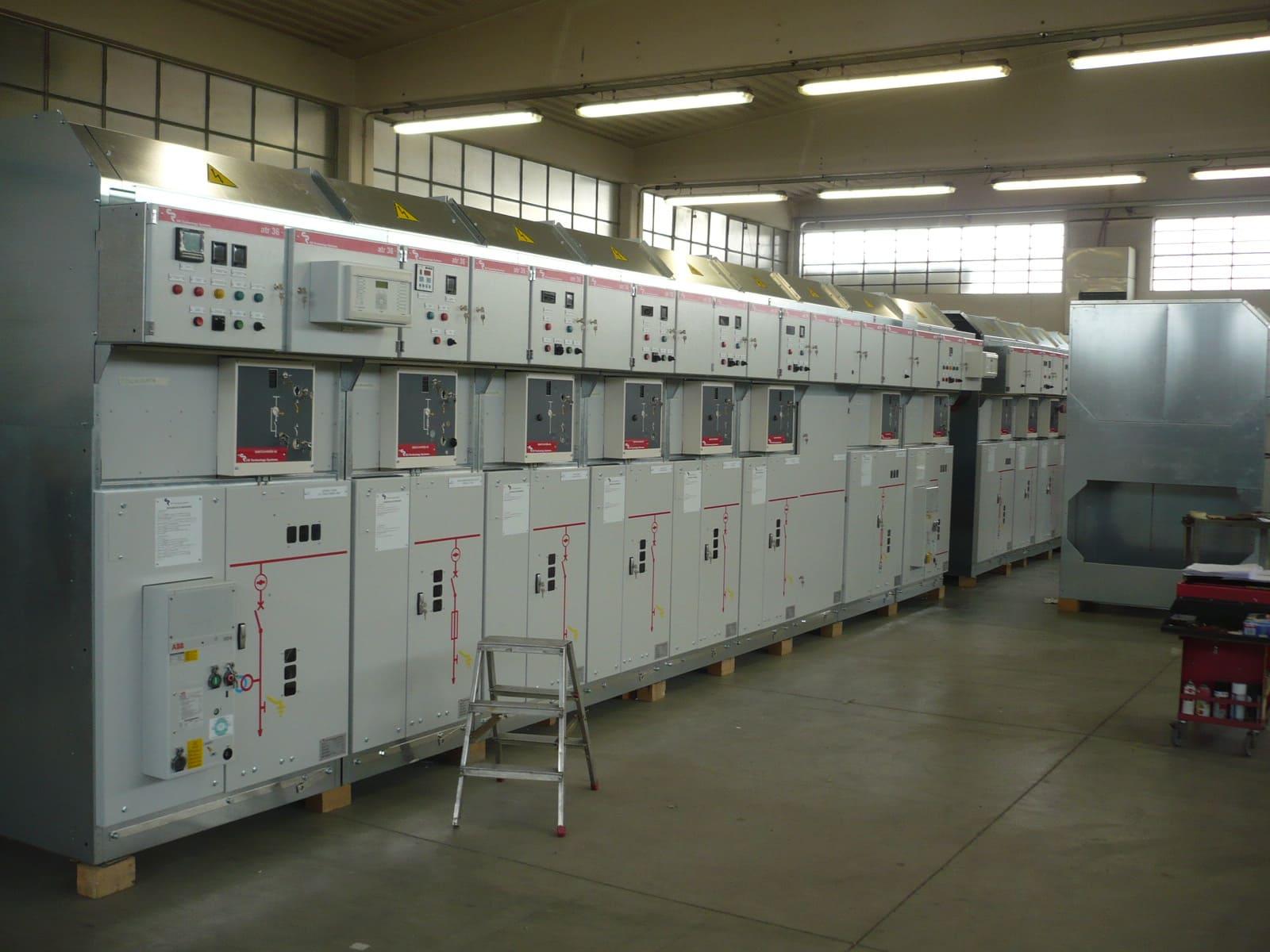 AIS MV electrical switchgear
