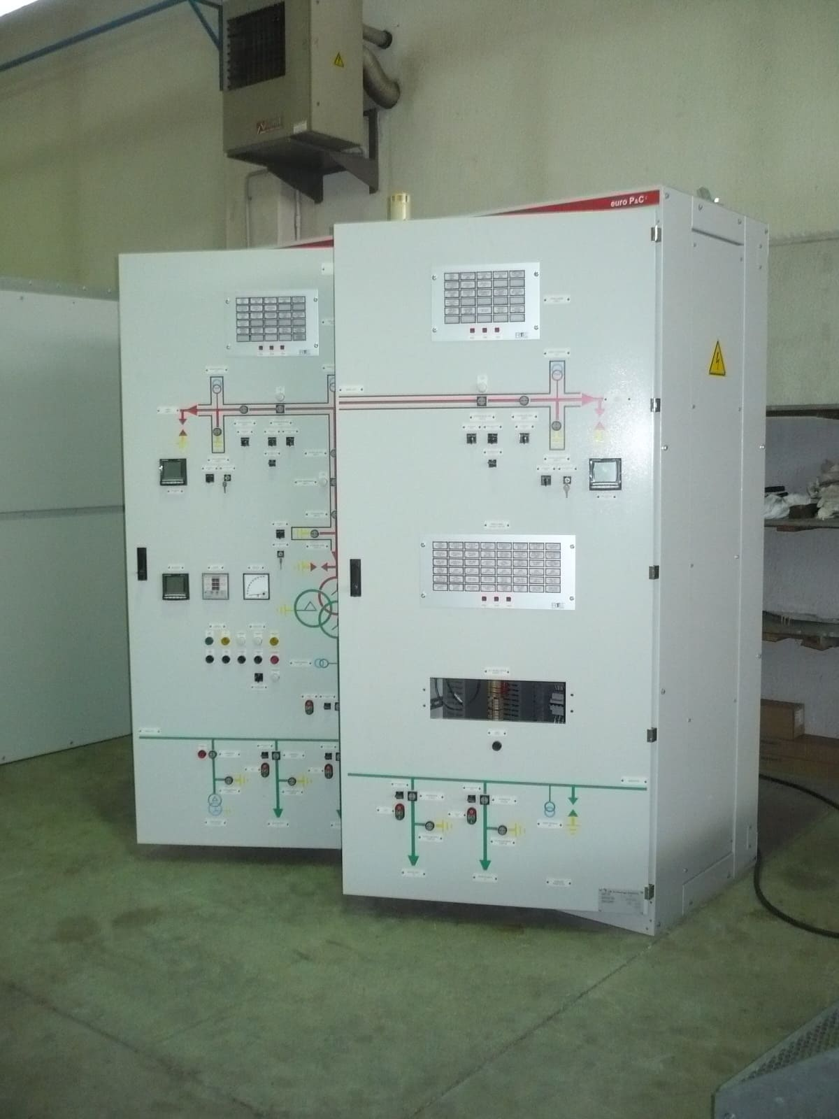Low voltage switchboard LV