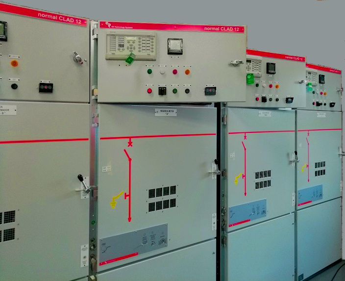 Electrical switchgear Normal Clad 12kV