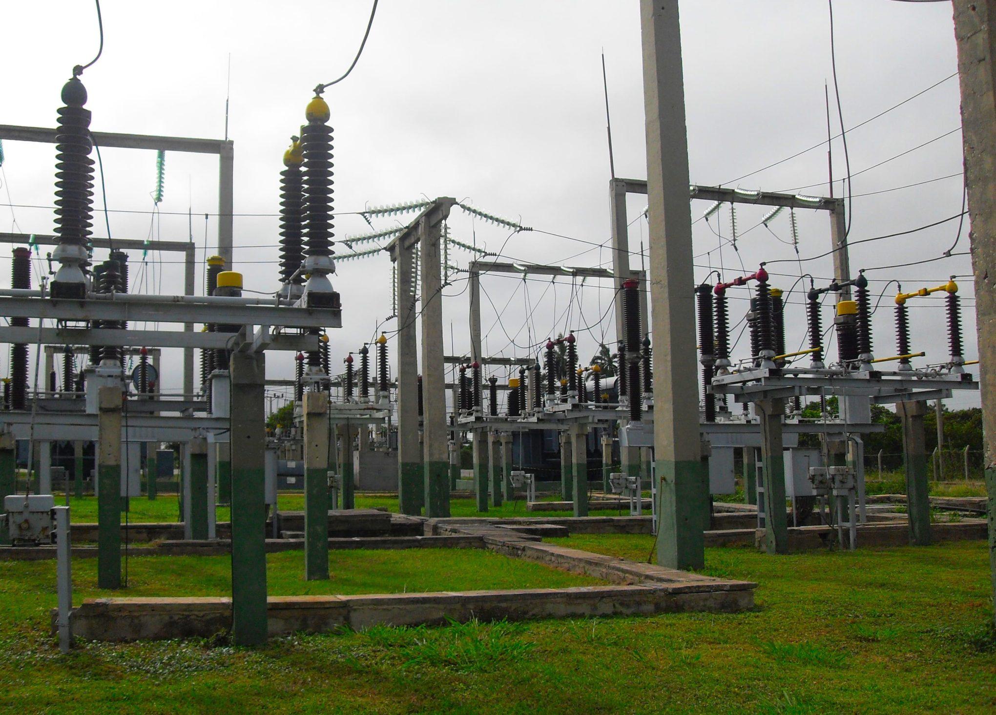 Power transformer for HV substation