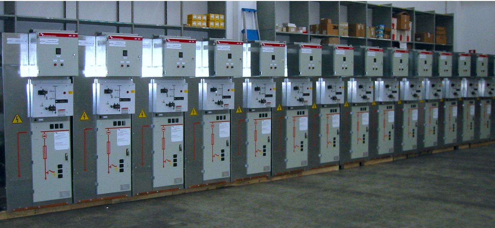 MV switchgear for Venezuela
