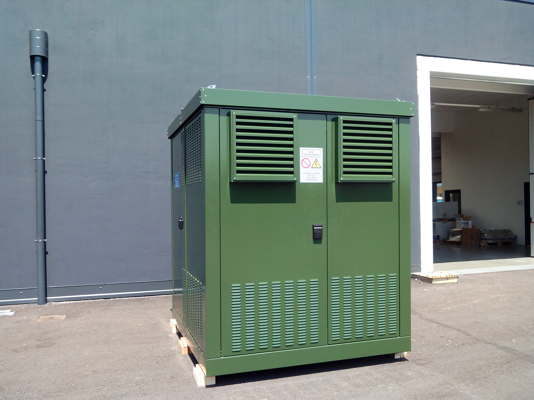 Compact substation for Cuba
