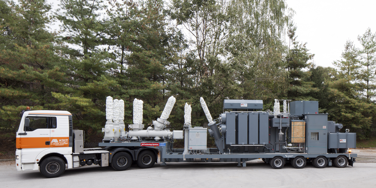 mobile substations for Iraq