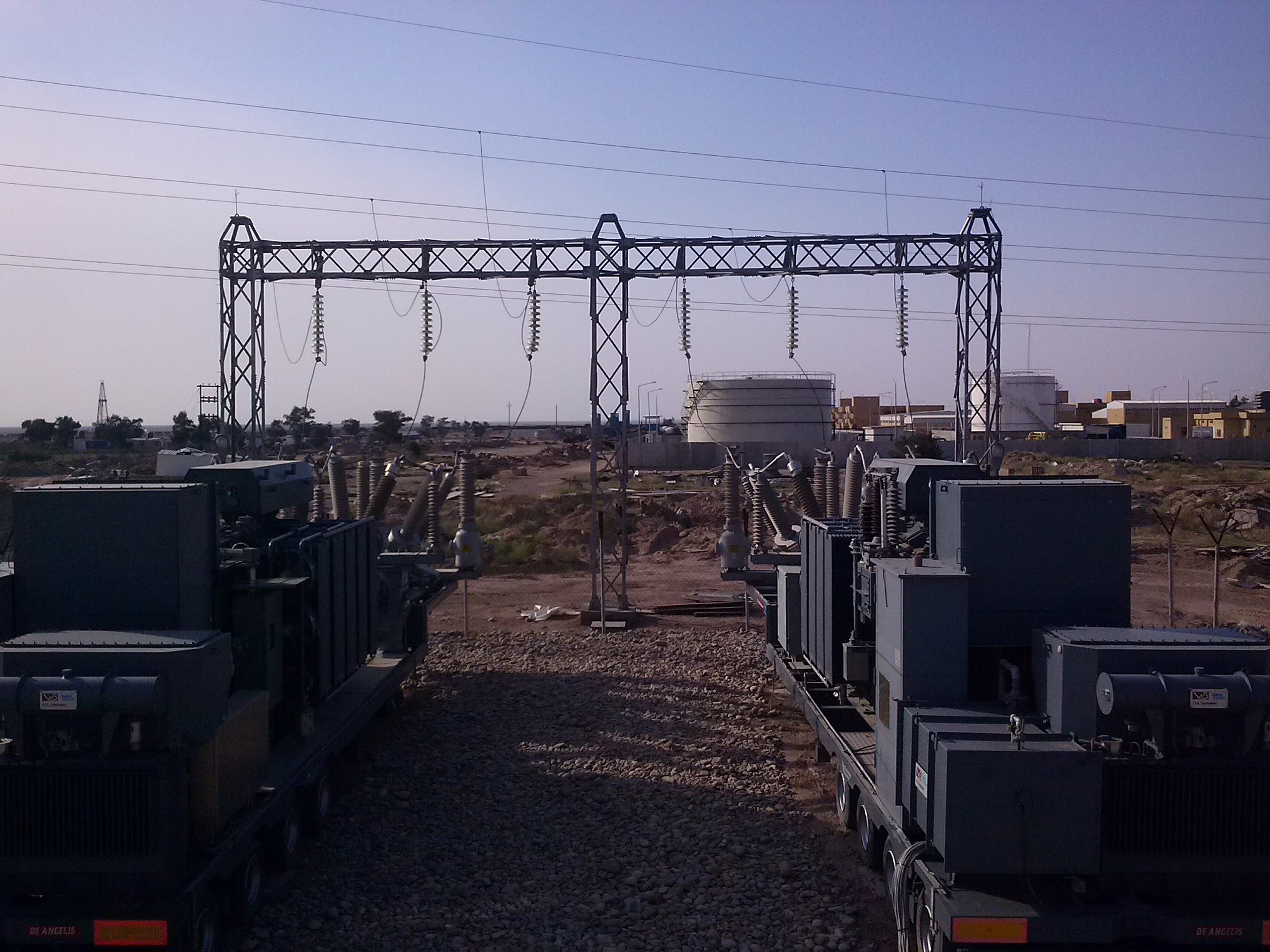 N. 2 mobile substations
