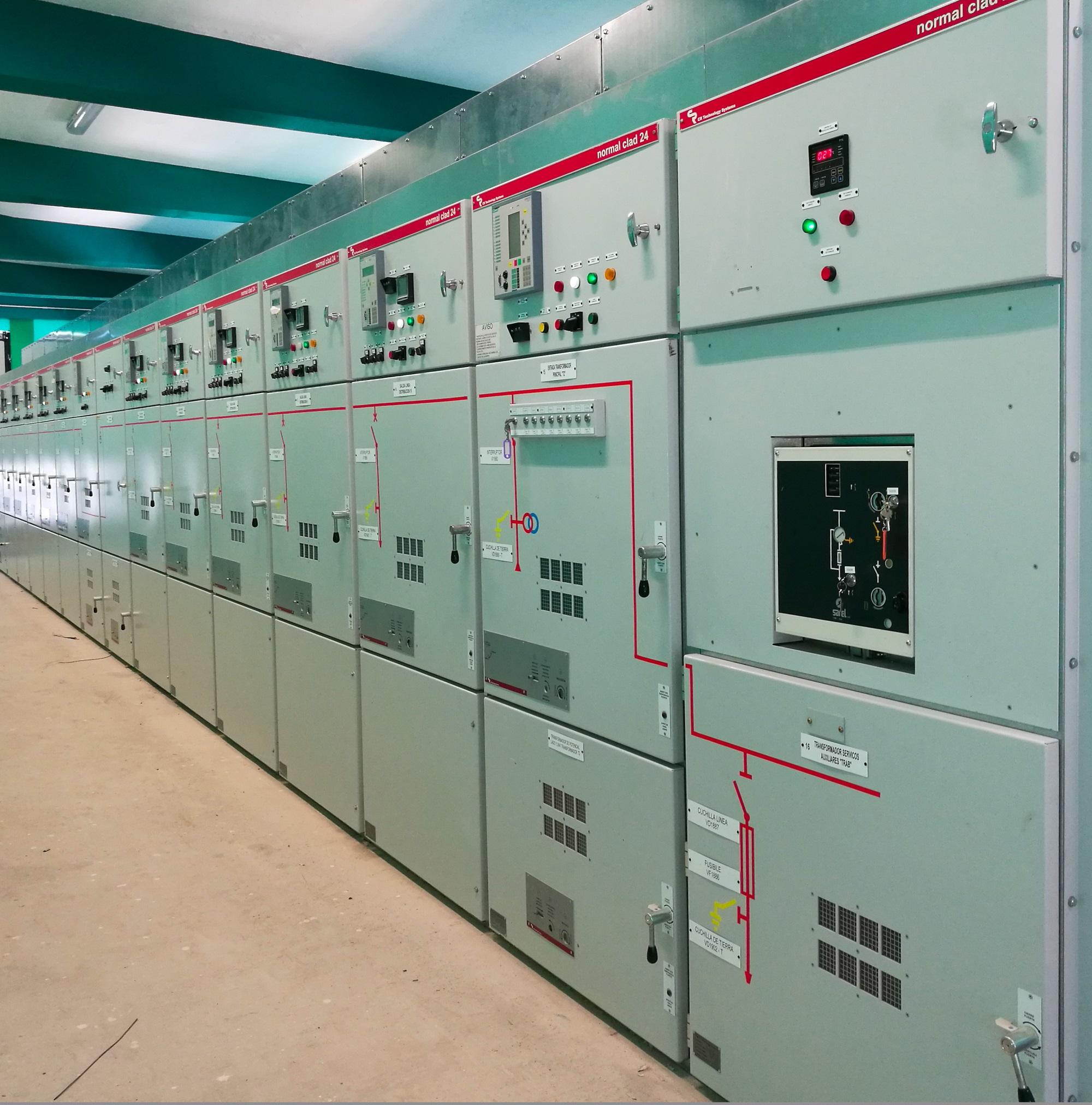 MV Electrical switchgear