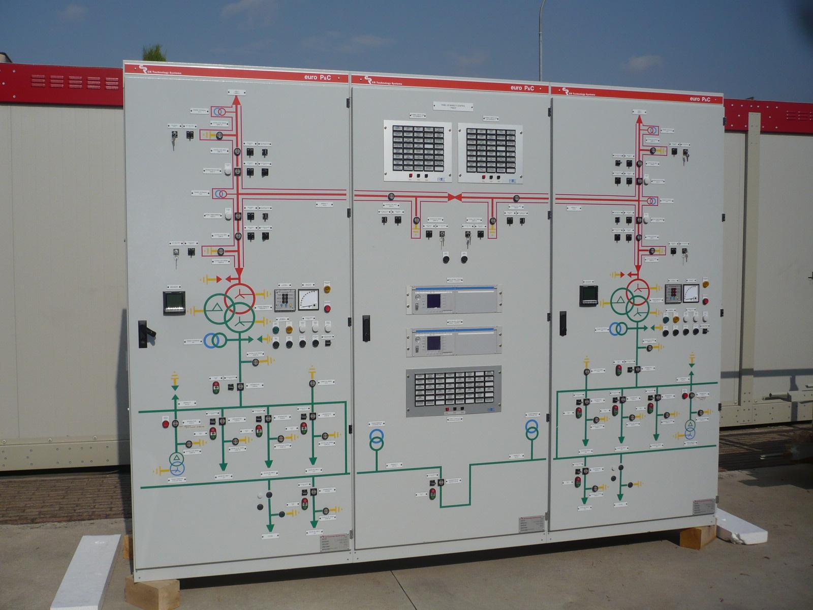 panneaux BT pour poste electrique Mariel