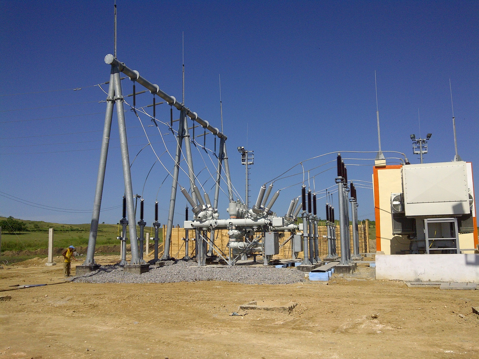 Electrical substation Facts for Kids