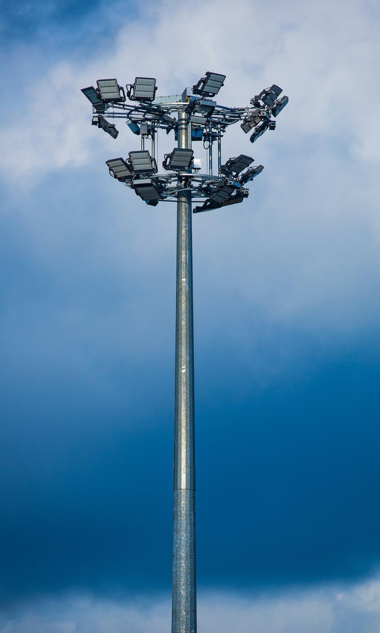 système d'éclairage Plaza de la Revolución