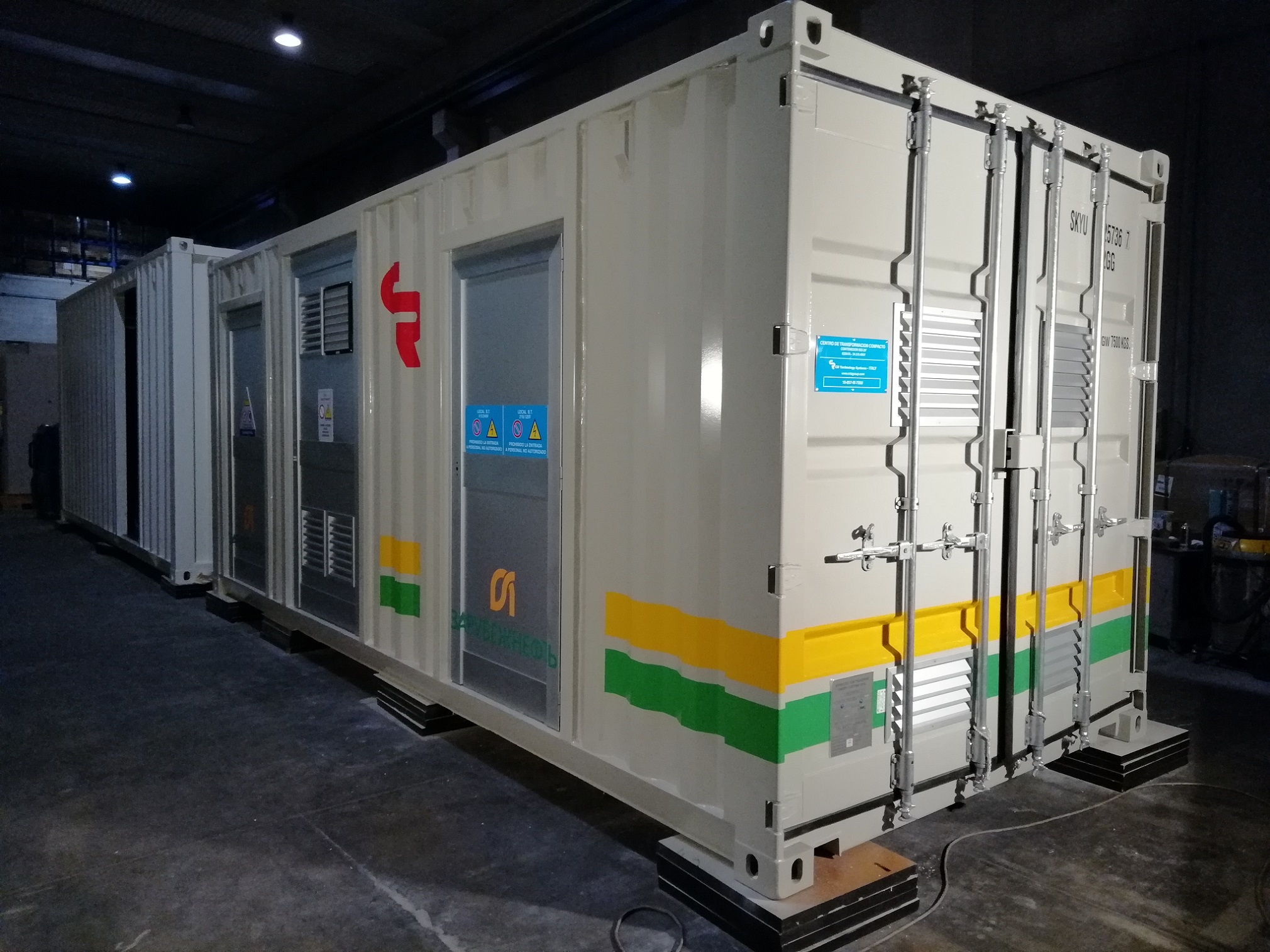 Container for Russian client