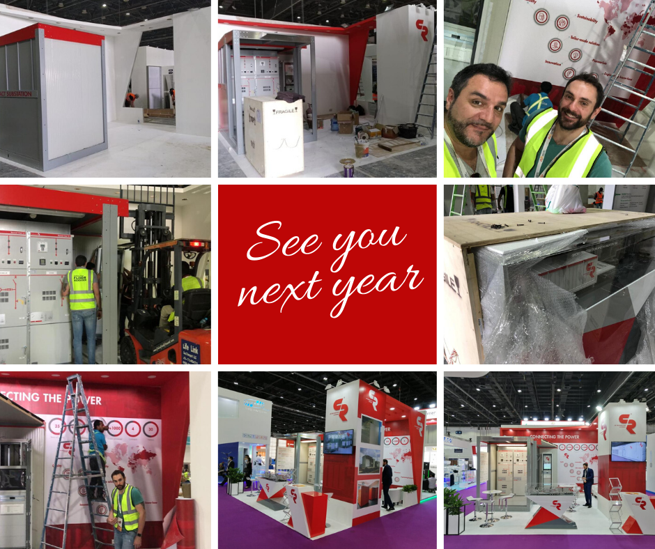 Collage building days in Dubai - Middle East Energy 2020 Exhibition