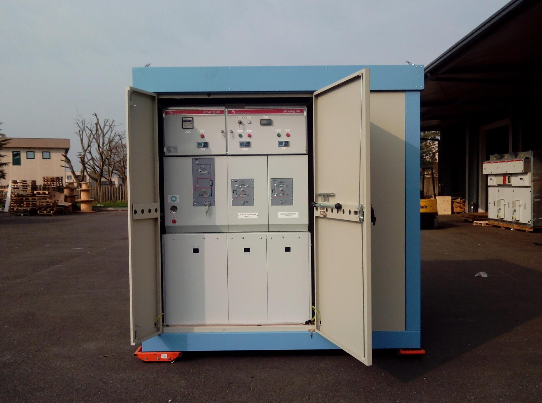 Sottostazione per distribuzione secondaria di energia