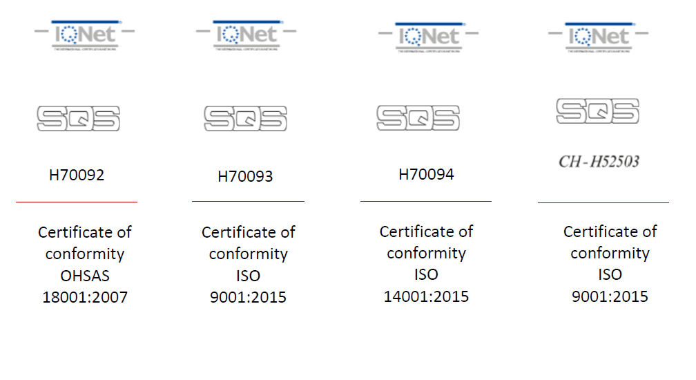 certification iso ohsas