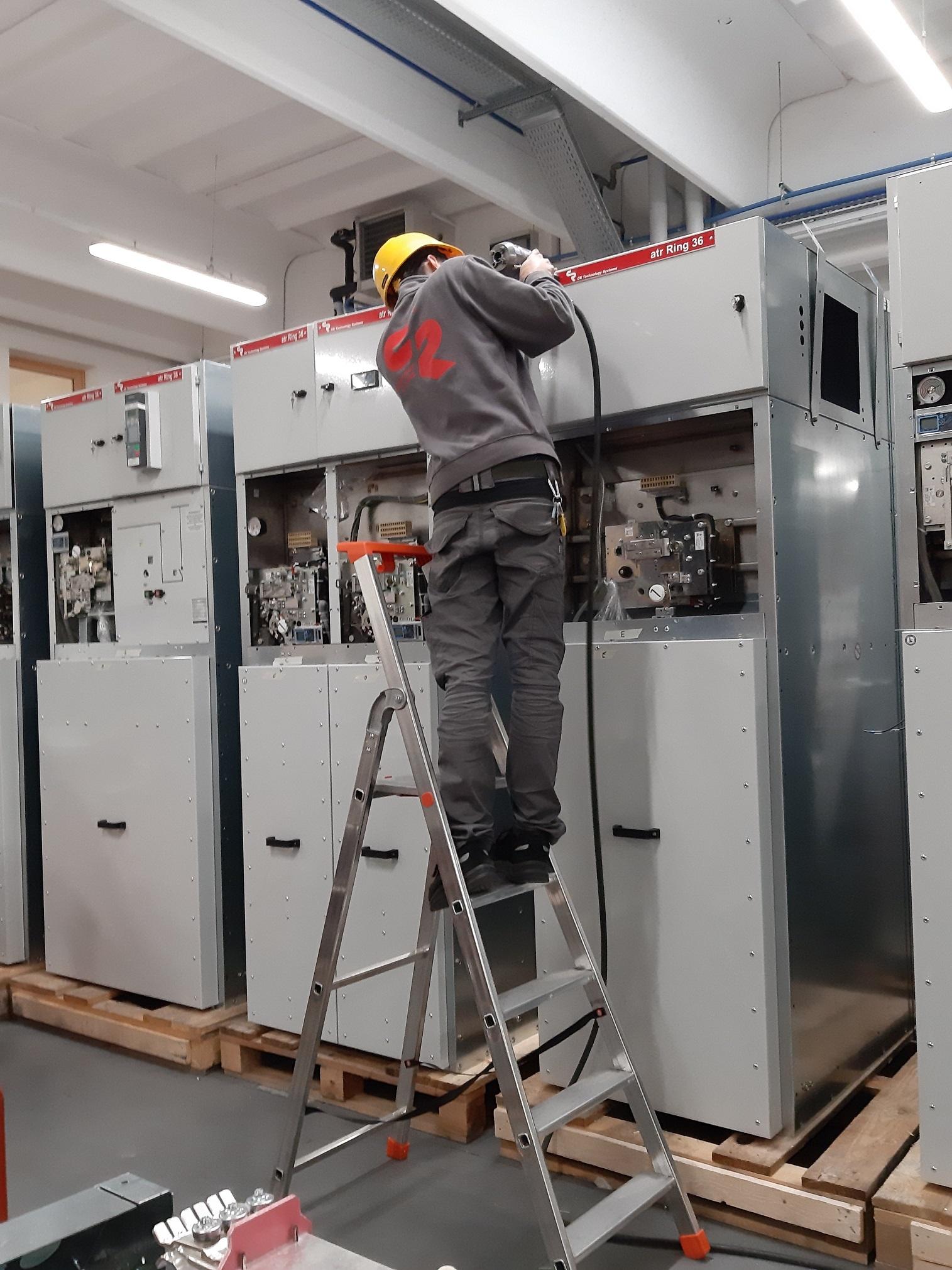 Paneles electricos MT GIS ATR-Ring