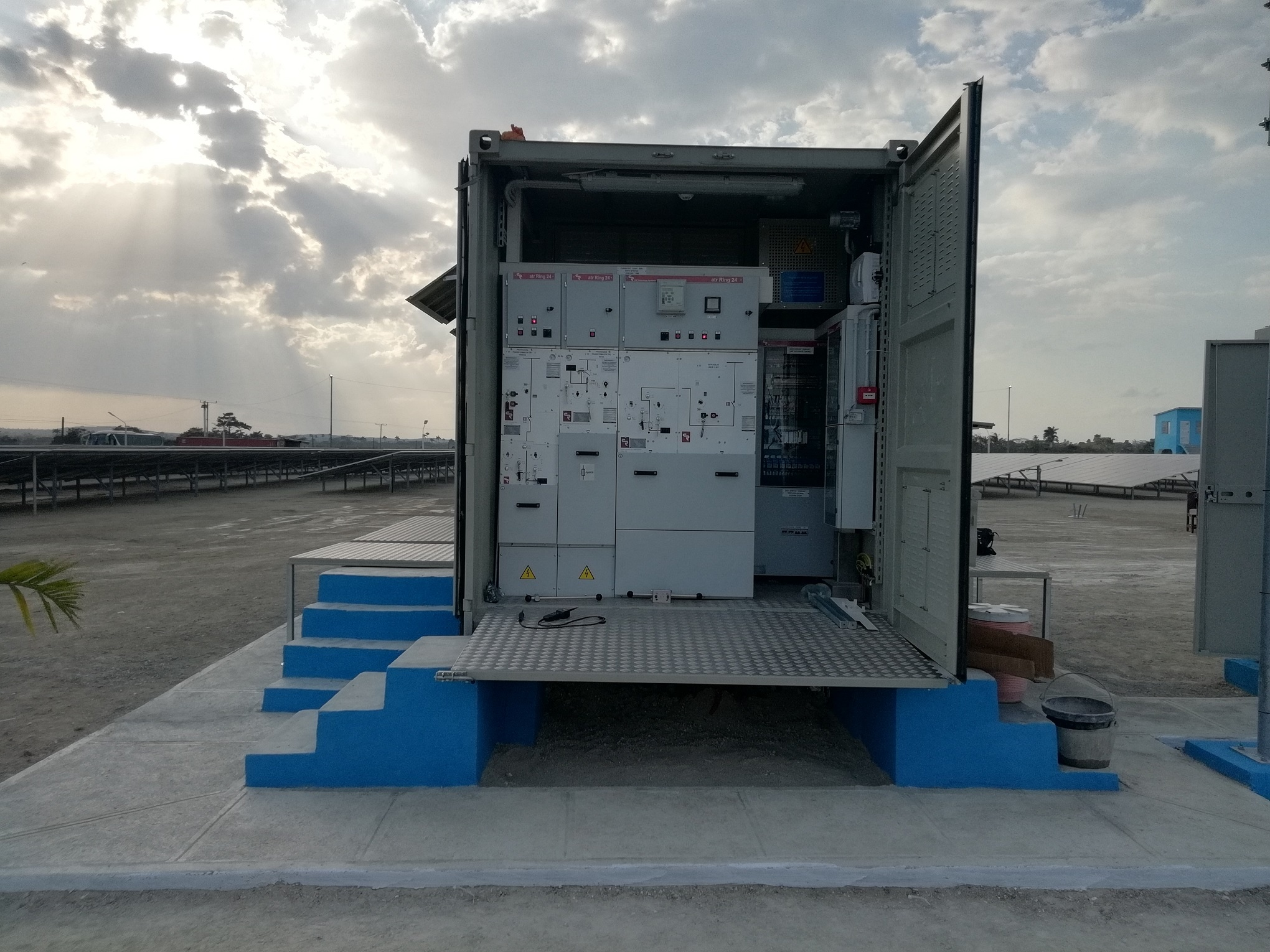 Container ISO para plantas fotovoltaicas