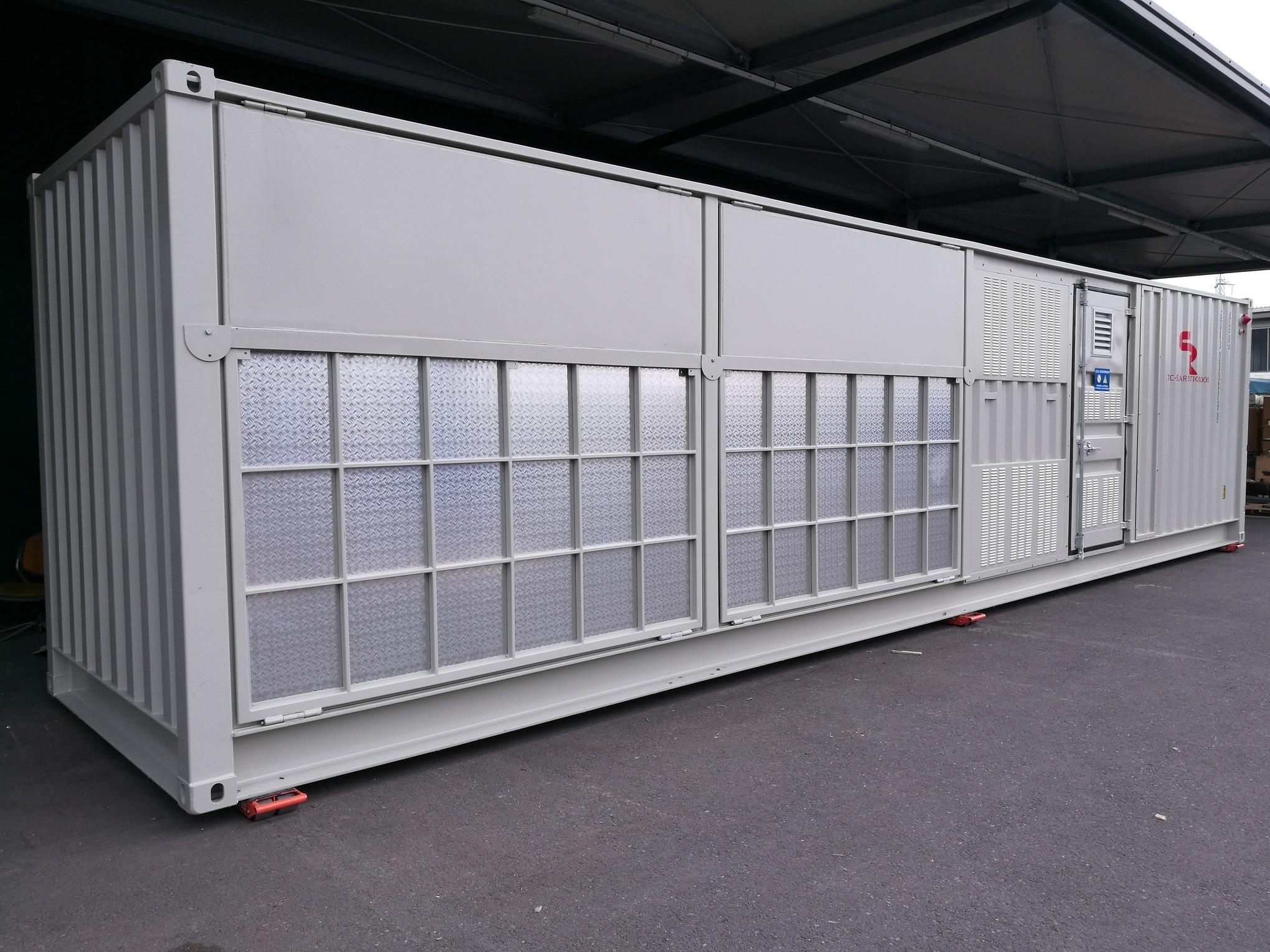 Subestación compacta monobloque ISO container