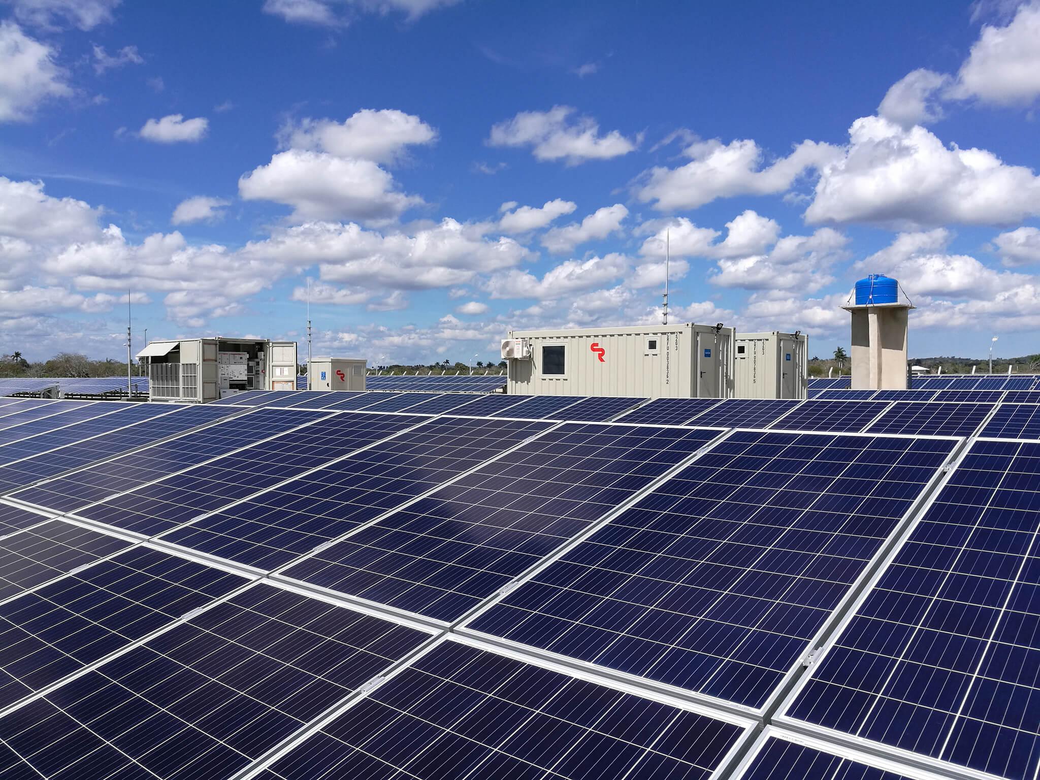Sistema Fotovoltaico FV en America