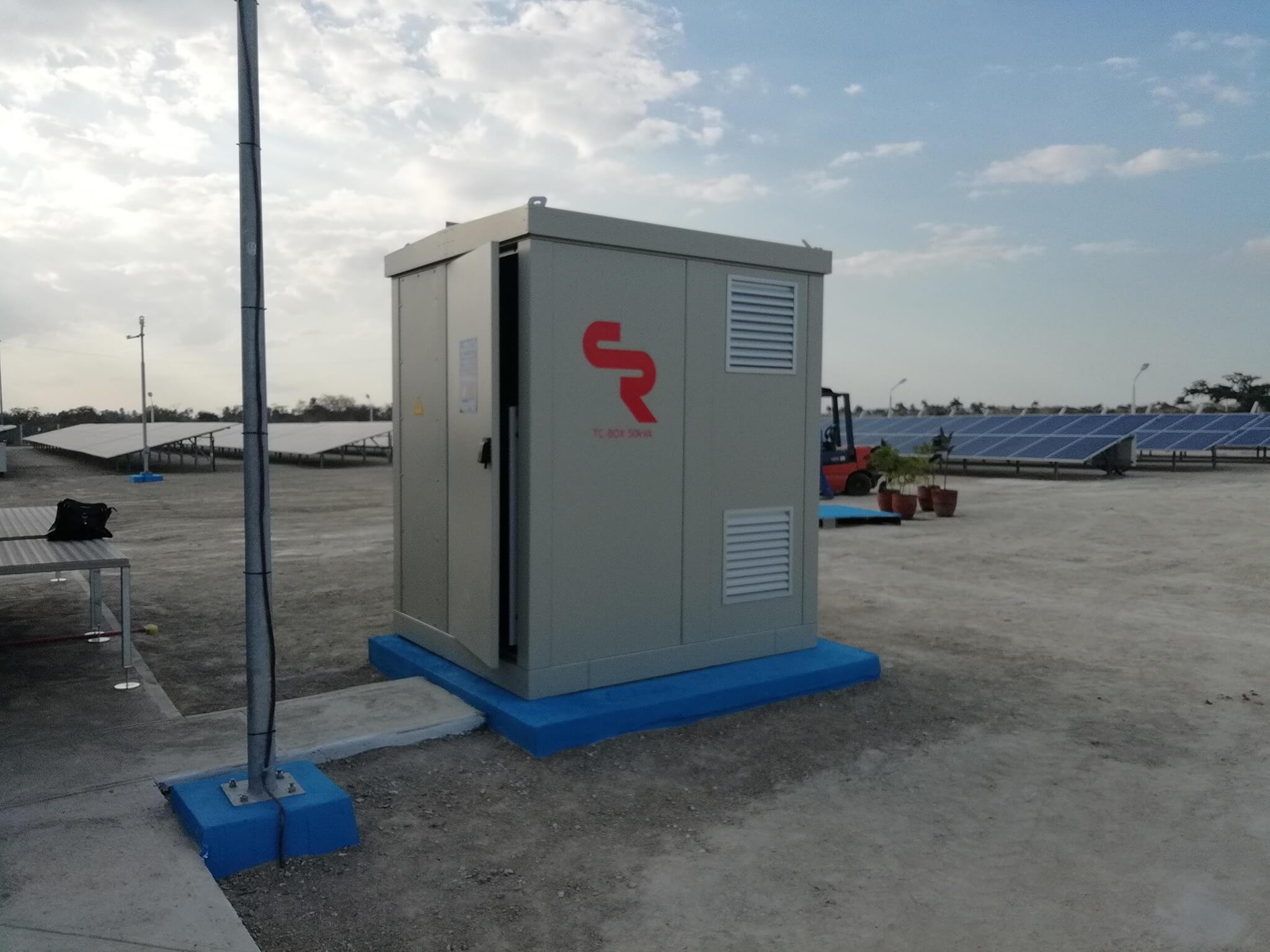 subestación eléctrica de distribución secundaria