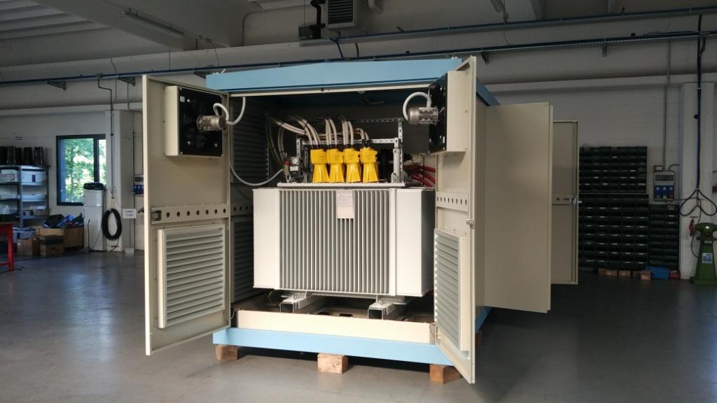 Subestación compacta plug and play