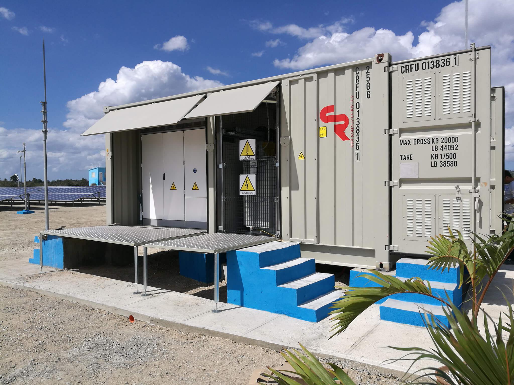 Sistema Fotovoltaico Venegas, Cuba