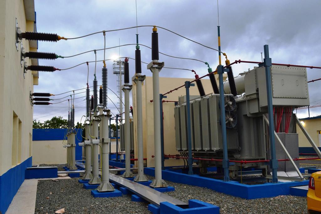 Subestación Electrica de alta tensión