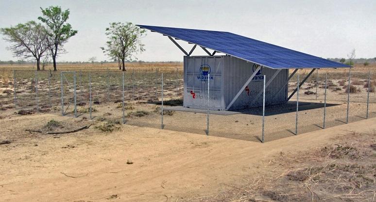 Subestacion para plantas fotovoltaicas