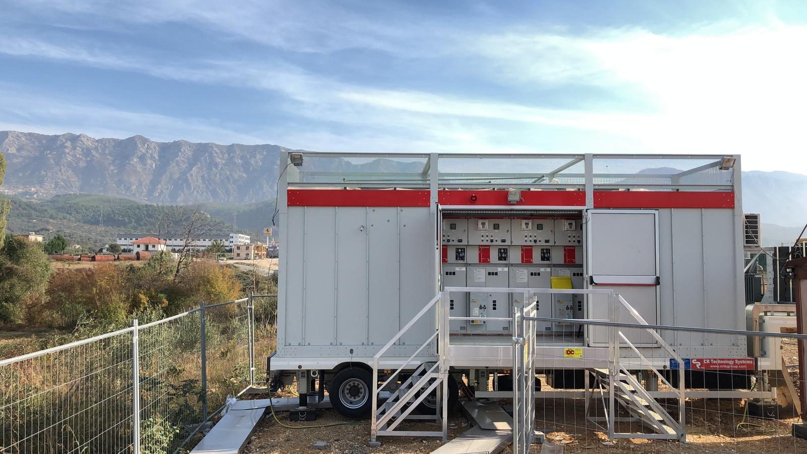 Subestación electrica para America Latina