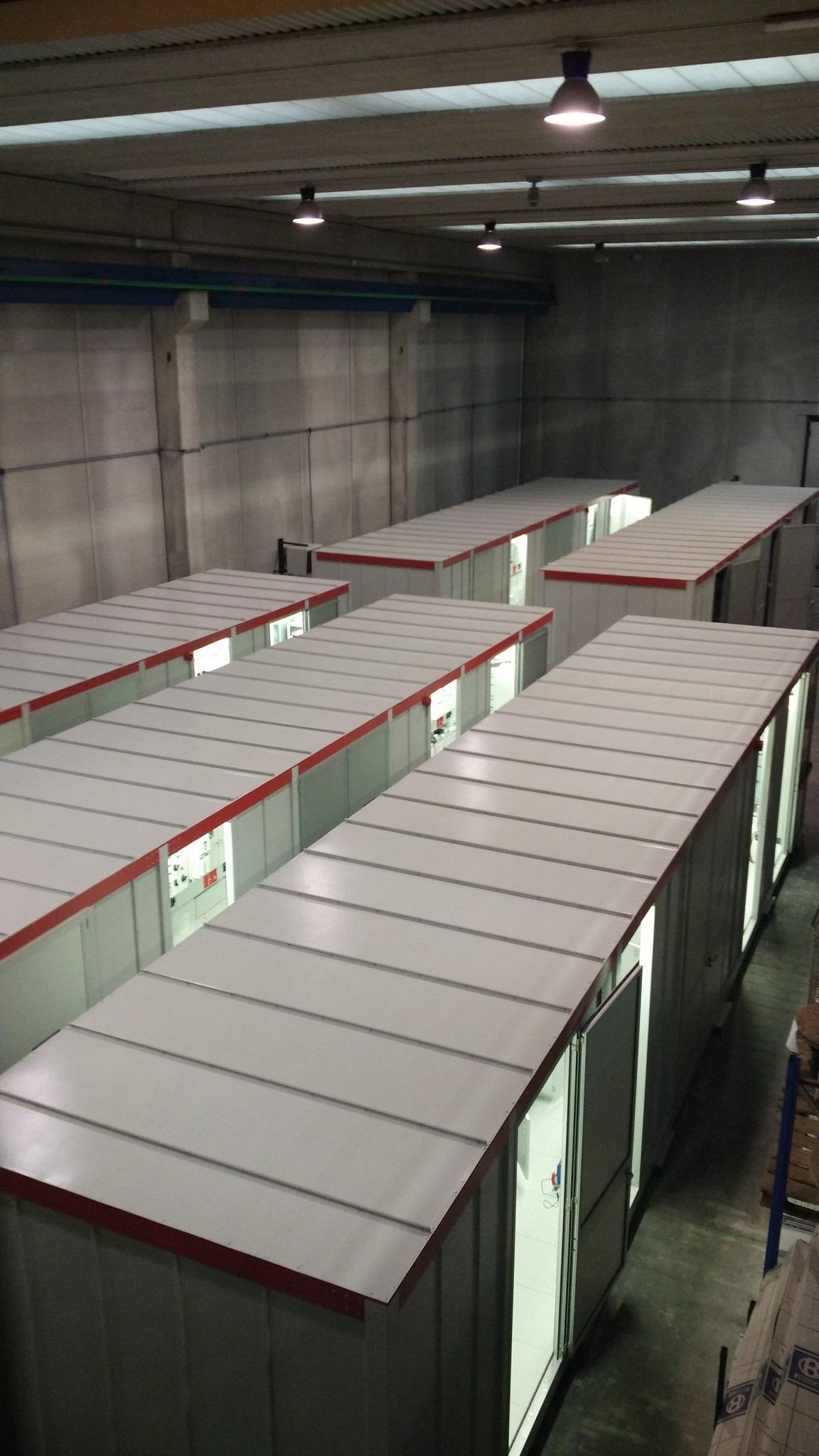 Subestaciones compactas y modulares MT