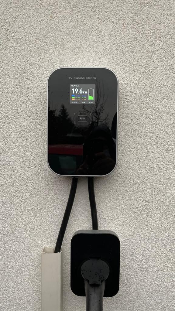 Wall-box for electric car