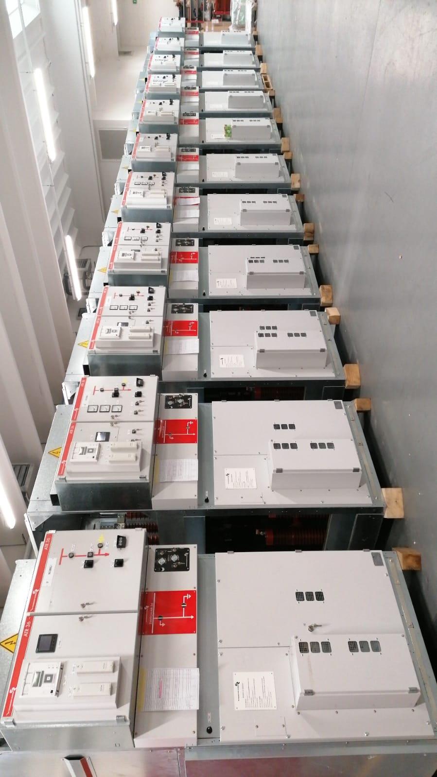 2 medium-voltage MV electrical switchgears for Syrian steelwork plant.