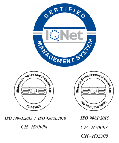 ISO Certification IQ NET SQS